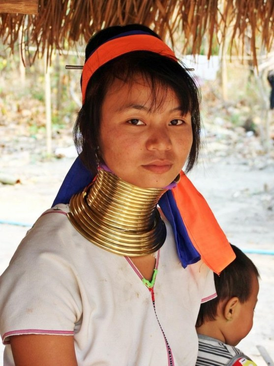 Karen Hill Tribe People Chiang Mai Thailand People