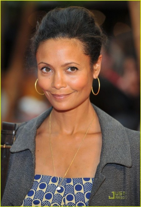 Thandie Newton Kung Fu Panda Premiere With The Kids Actresses