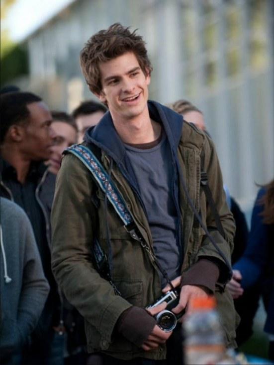 Andrew Garfield As Peter Parker In The Amazing Spider Man Hot