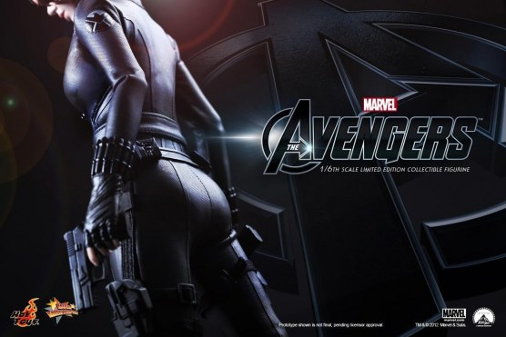 Hot Toys The Avengers Black Widow Teaser Hot