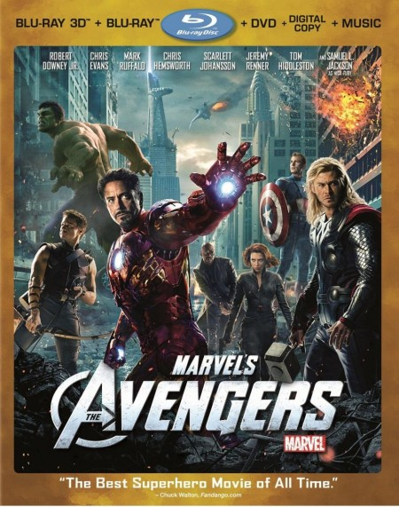 The Avengers Blu Ray