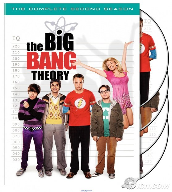 The Big Bang Theory The Complete Second Season Body