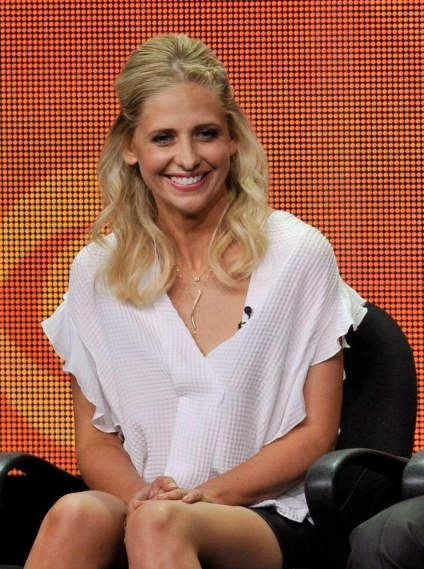 Sarah Michelle Gellar At The Crazy Ones Panel At Summer Tca Tour