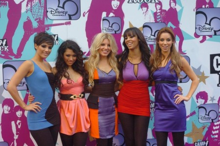 The Saturdays At Camp Rock Premiere The Saturdays