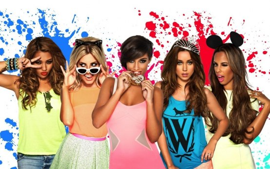 The Saturdays What About Us Names