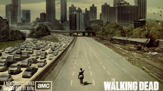 The Walking Dead Nature Poster Cover