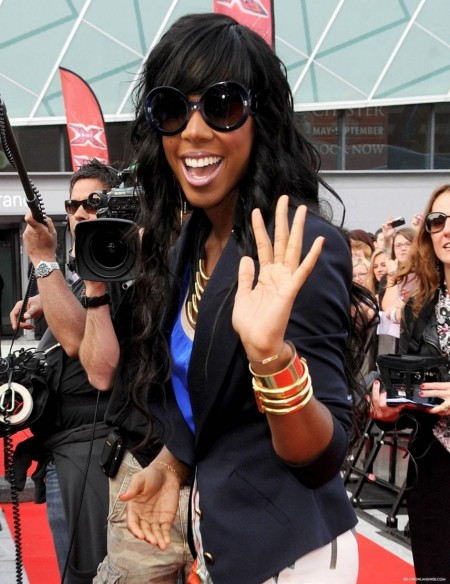 July The Factor Auditions In Liverpool Day Kelly Rowland Kelly Rowland