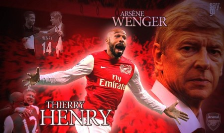 Thierry Henry And Arsene Wenger Arsenal By Thesaygi On