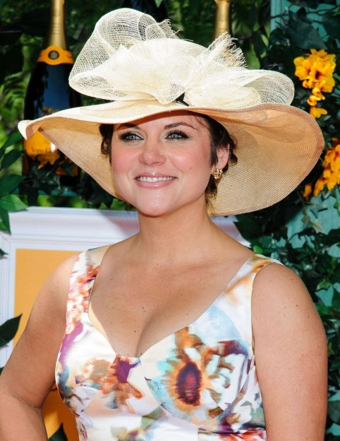 Tiffani Thiessen Veuve Clicquot Polo Classic In Jersey City