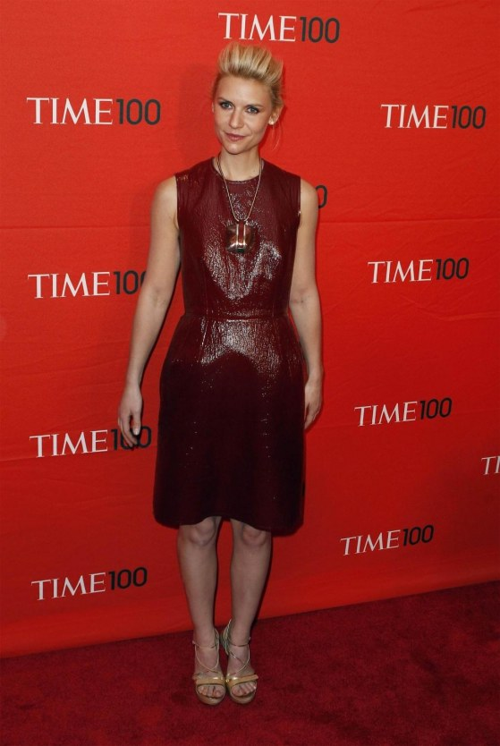 Claire Danes Tilda Swinton Hit Red Carpet Time Gala Celebrating Time Most Influential People World Held Jazz Lin Claire Danes Time Gala Times Most Influential People April Red Carpet