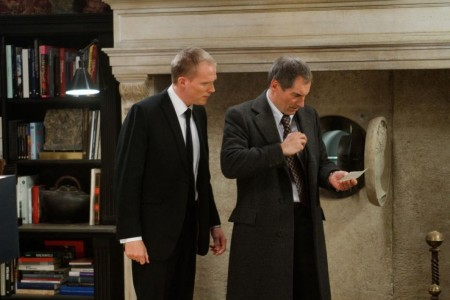 Timothy Dalton The Tourist Paul Bettany Interpol Agents Doctor Who