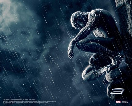 Spider Man Reflection Tobey Maguire Kirsten Dunst Movies
