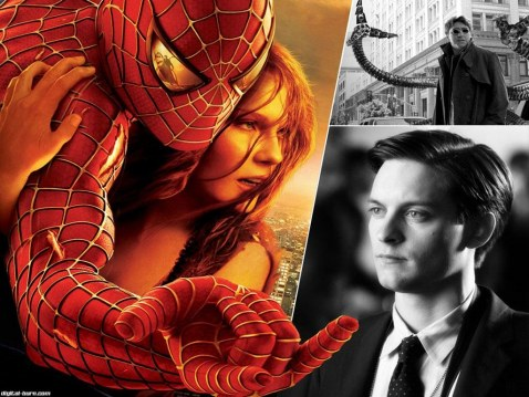 Spiderman Tobey Maguire Face