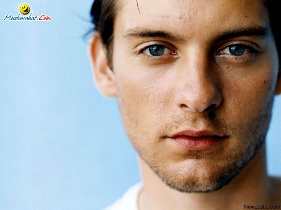 Tobey Maguire New Face Of Prada Face