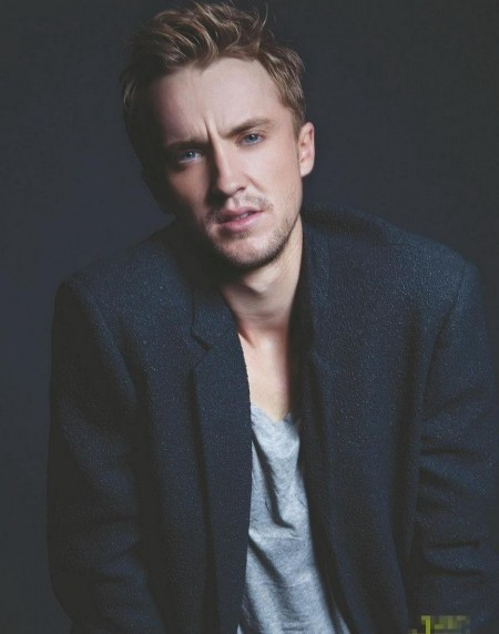 Tom Felton Melancholy Daman Cover Photo