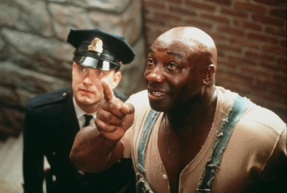 The Green Mile Michael Clarke Duncan Tom Hanks Green Mile