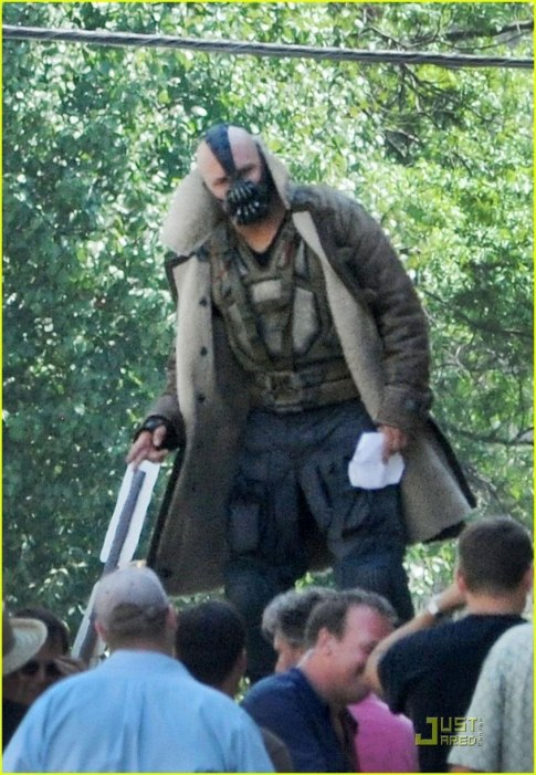 Tom Hardy Batman Bane Body