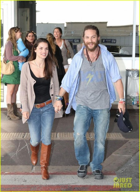 Tom Hardy Charlotte Riley Cannes Couple