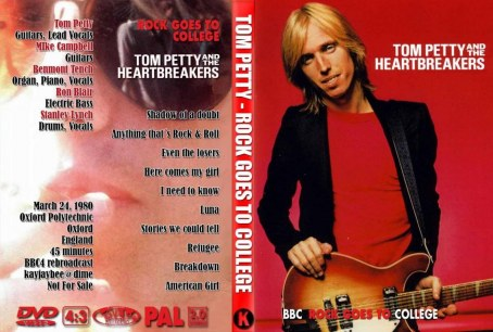 Dvd Tom Petty And The Heartbreakers Rock Goes To College March