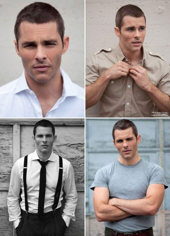 James Marsden Buzz Cut Short Hair