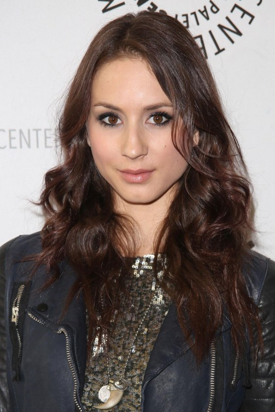 Troian Bellisario At An Evening With Pretty Little Liars In Beverly Hills Pll