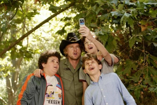 Still Of Owen Wilson Troy Gentile And Nate Hartley In Drillbit Taylor Large Picture Josh Peck