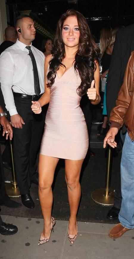 Tulisa Contostavlos Rd Birth Day Movida London