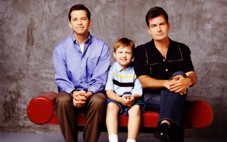 Two And A Half Men Shared Photo