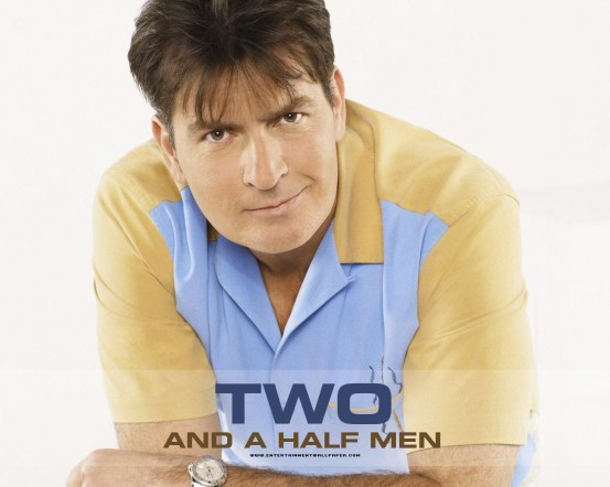 Two And Half Men Wallpaper Two And Half Men Logo