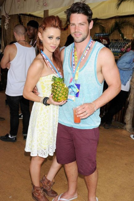 Una Healy And Ben Foden Music