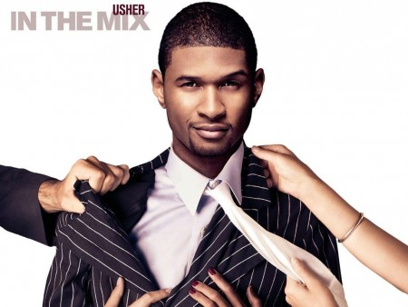 In The Mix Usher Wallpaper Normal Wallpaper