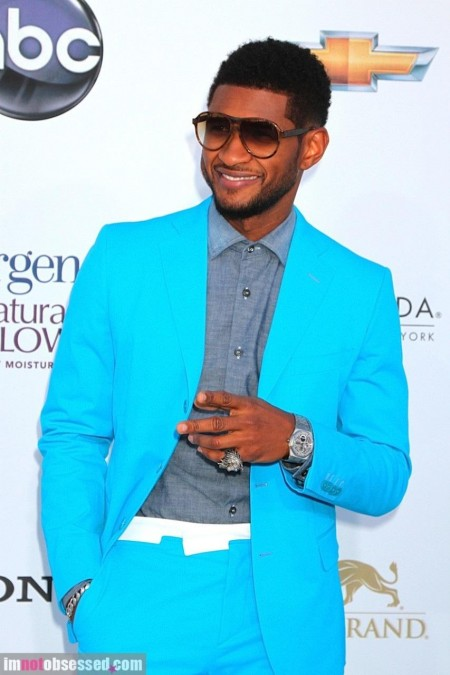 Usher Accused Of Cheating By Ex Wife