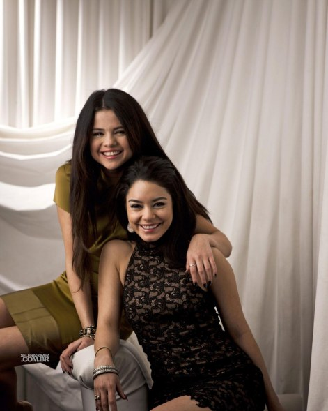 Selena Gomez And Vanessa Hudgens At Kevin Scanlon Photoshoot For New York Times And Selena Gomez