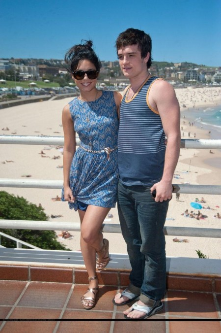Vanessa Hudgens Is Sexy Promoting Journey On Bondi Beach Sydney Beach