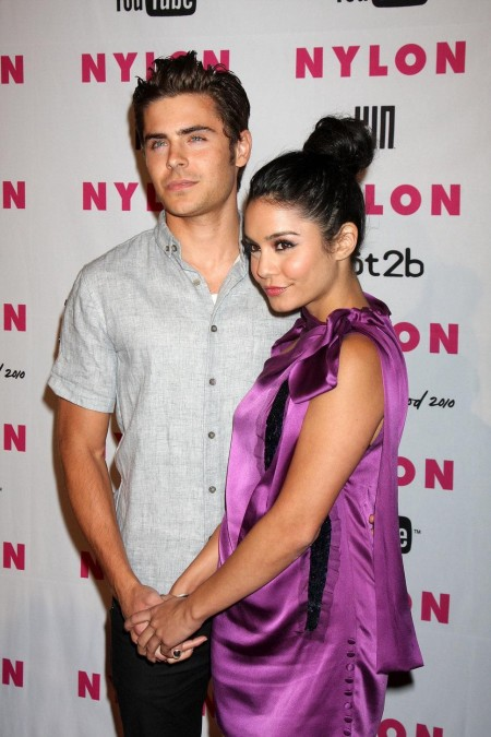 Zac Efron And Vanessa Hudgens And Zac Efron