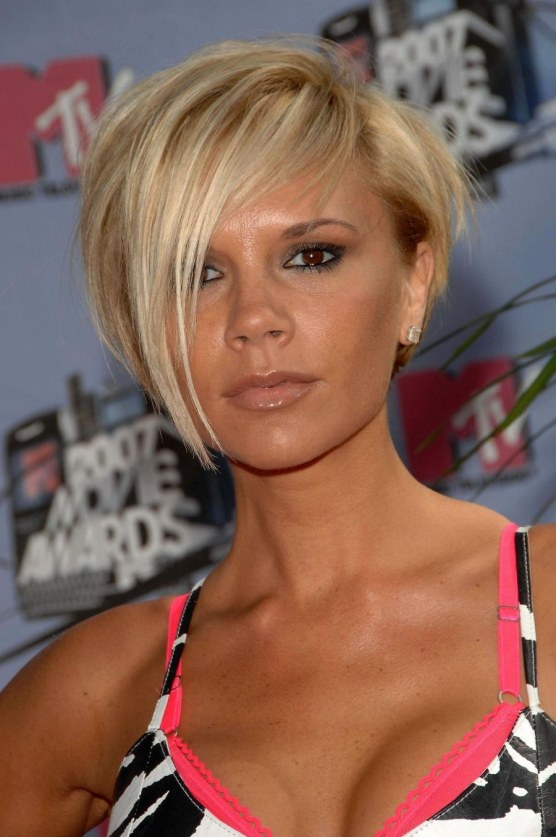 Victoria Beckham Short Hair At The Mtv Movie Awards Victoria Beckham Short Hairstyles