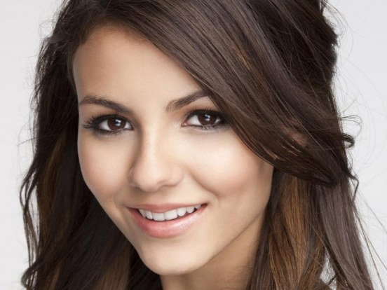 Victoria Justice Closeup Wallpaper Hair