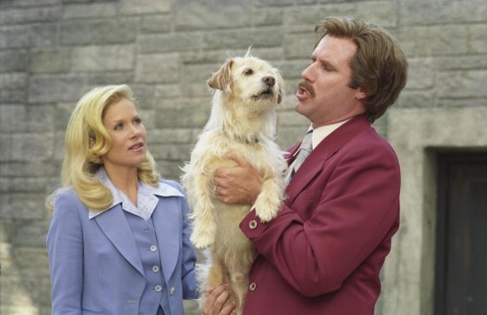 Still Of Christina Applegate And Will Ferrell In Anchorman The Legend Of Ron Burgundy Large Picture Anchorman