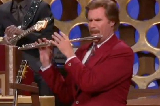Will Ferrell Announces Anchorman In Character Anchorman