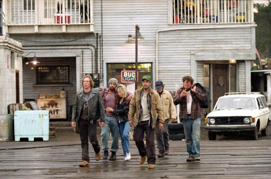 Still Of George Clooney Mark Wahlberg John Reilly William Fichtner Allen Payne And John Hawkes In Furtuna Perfecta Perfect Storm