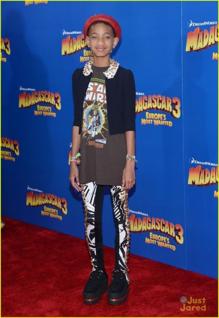 Willow Smith Madagascar Premiere Party