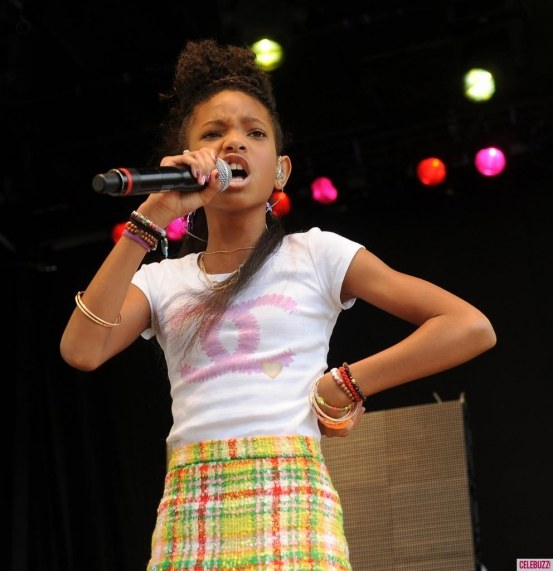 Willow Smith White House Easter Egg Roll Body