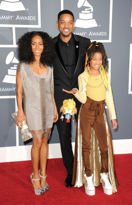 Will Smith Jada Pinkett Smith And Willow Smith Large Picture And Jada Pinkett Smith
