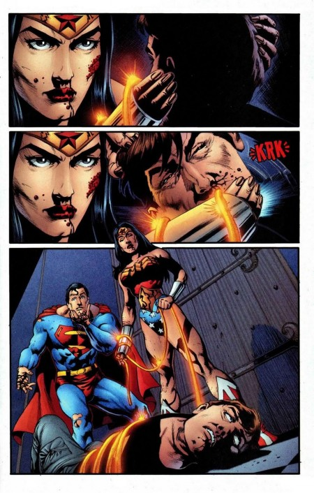 Wonder Woman Versus Max Amazon