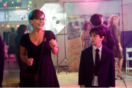 Still Of Rachael Harris And Zachary Gordon In Diary Of Wimpy Kid Large Picture