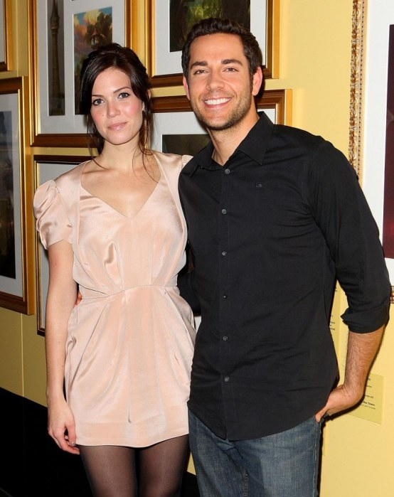 Mandy Moore Zachary Levi Mandy Moore Promotes Klptxgvf Yvx And Mandy Moore