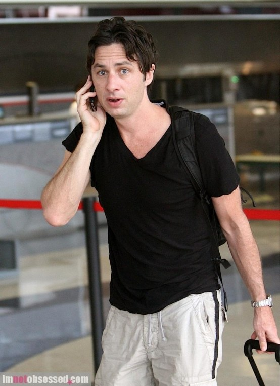 Zach Braff Is Ready For Takeoff