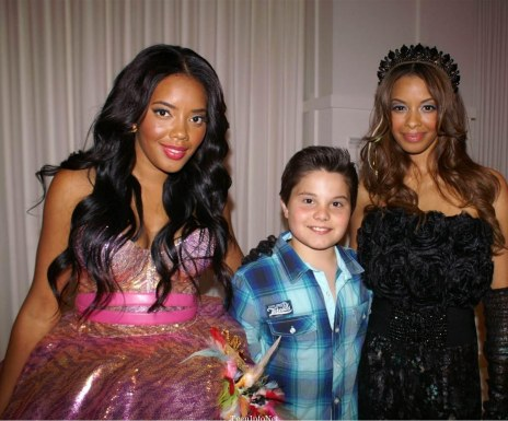 Pastry Vanessa And Angela Simmons And Zach Callison