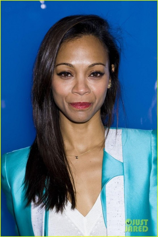 Zoe Saldana Prabal Gurung Gal Zoe Saldana Fashion Week Saturday