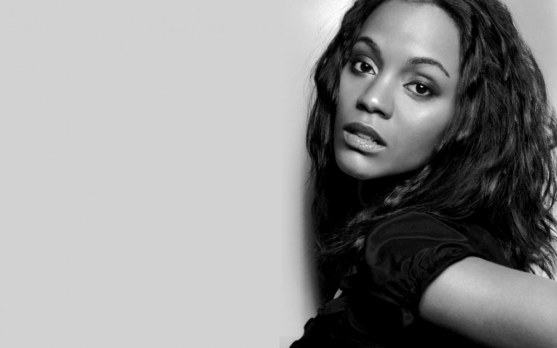 Zoe Saldana Widescreen Wallpaper Wallpaper